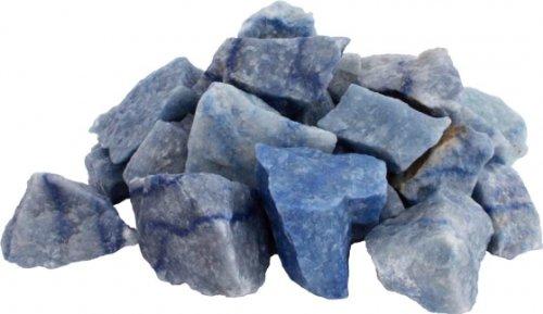 Mineralien, Rohsteine, Blauquarz, 500 g-Beutel