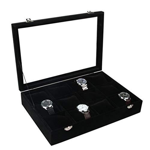 non-brand Sharplace Caja de Almacenamiento Joyería Vitrina