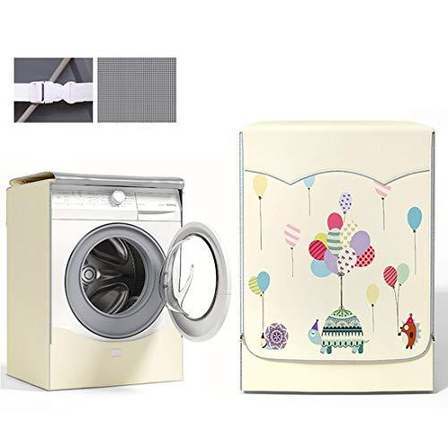 Waschmaschinen-abdeckung Für Frontlader Waschmaschinen Und Trockner Wasserdicht Abdeckung Für Waschmaschinen Uv-beständig Anti-aging Waschmaschinenbezug