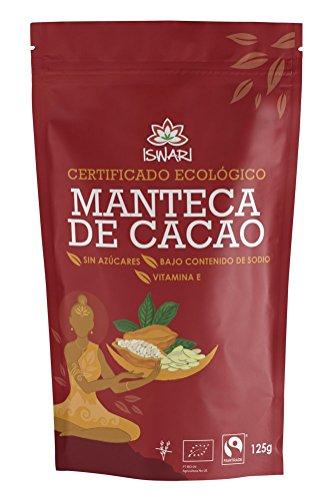 Iswari Manteca De Cacao Superaliemtno 125Gr; Bio 1 Unidad
