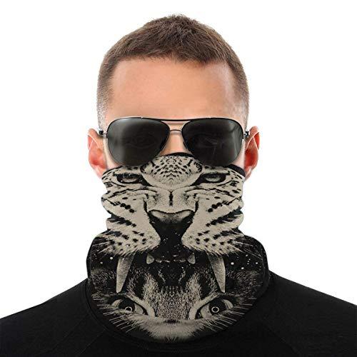 Bandanas máscara facial calva águila cuello polainas unisex variedad bufanda envoltura cabeza bufandas banda para el sudor