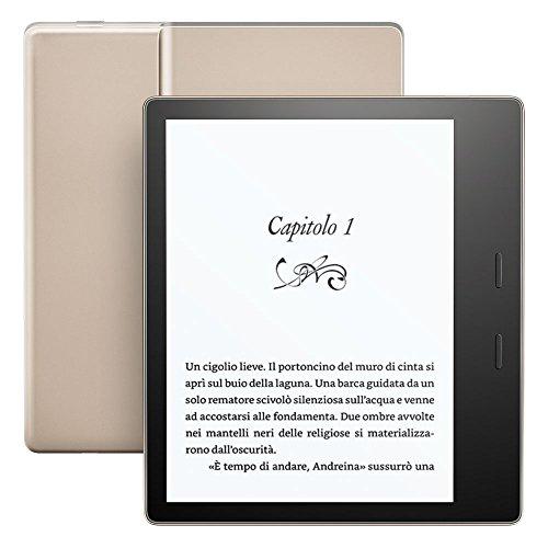 Kindle Oasis - Resistente all'acqua, 32 GB, connettività Wi-Fi (generazione precedente - 9ª)