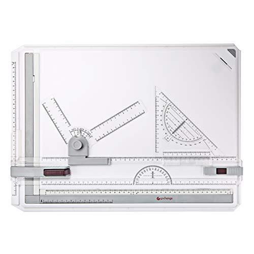 GOCHANGE A3サイズ製図板/定規付/ドラフターセット 製図書きの必需品 図面 建築 卓上製図板