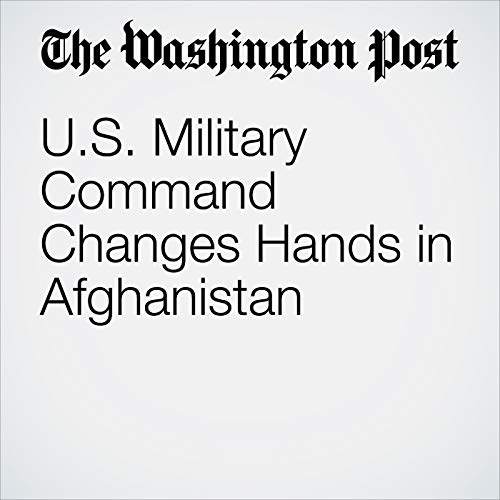 U.S. Military Command Changes Hands in Afghanistan copertina