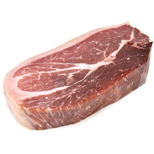 グルメソムリエ ハモンイベリコ ミニ原木 イベリコ豚 生ハム ブロック スペイン産 48ヶ月熟成 ミニハモン (マサ/モモ 400g)