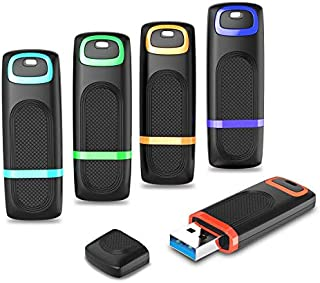 USB 3.0 Flash Drive 64GB, RAOYI 5 Pack Thumb Drive High Speed USB Drive 3.0 USB Memory Stick 64G Backup Jump Drive Portabl...