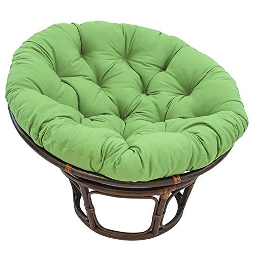 Miwaimao Cushion Recliner Rocking Chair Cushion Thick Rattan Chair Cushion Sofa Cushion Tatami Cushions Garden Hammock Swing,Green,China
