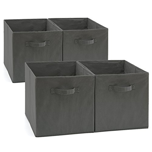 EZOWare faltbare Aufbewahrungsbox - 33 x 38 x 33 cm - 4er Set
