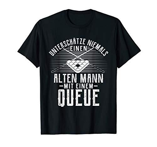 Herren Billard Snooker Pool T-Shirt