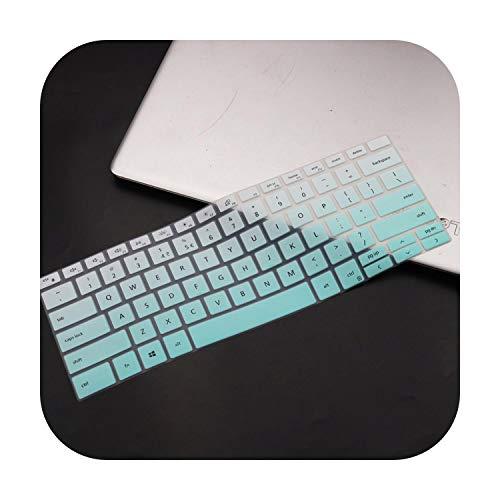 Funda protectora para teclado Dell XPS 17 9700 2020 / XPS 13 9300 7390 2020 / XPS 15 9500 2020 / Silicona Notebook Notebook Keyboard Cover Protector Skin Fademint-