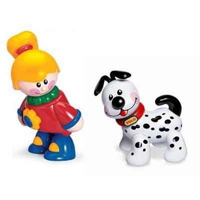 Tolo - 89604 - Figurine - Animaux - Les Meilleurs Amis - Best Friends