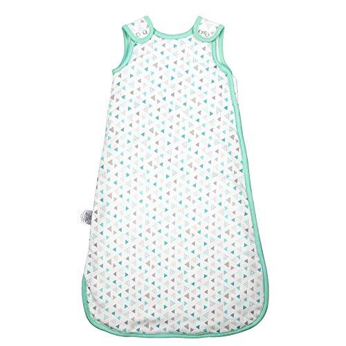 Adorfine Babyschlafsack Ganzjahresschlafsack aus atmungsaktiv Baumwolle Größe 70, 2.5 Tog Schlafsack Kinderschlafsack waschbar für Neugeborene 6-12 Monate