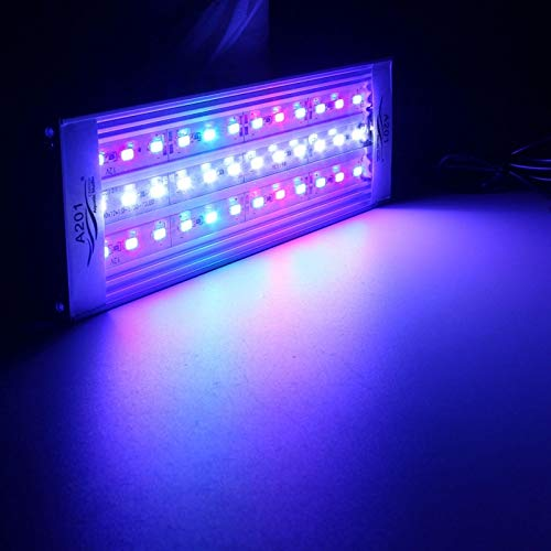 UKPlug, 18W31CM : 20/25/30/31/35/36/40/45/50/60 cm LED Unterwasserlicht RGB 5730 SMD Aquatic Coral Sea Reef Aquarium, US/EU/UK