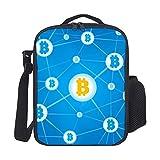 Bolsa Del Almuerzo Bitcoin Network Blue Bolsa Almuerzo Prueba De Fugas Bolsa Porta Isotermica Bolsa Porta Alimentos Impermeable Lunch Bolsa