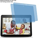 4ProTec I 2X ANTIREFLEX matt Bildschirmschutzfolie für Amazon Echo Show 2nd / 2. Generation 2018 Schutzfolie Displayschutzfolie Schutzhülle Bildschirmschutz Bildschirmfolie Folie