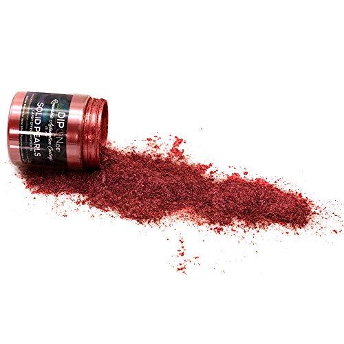 KandyDip Effektpigment Luxury Wine RED Pearl Perlglanz Metallic Farbpulver Pigment für Epoxidharz Autolack Sprühfolie Pigmente Aquarell Seife Powder (25 Gramm)