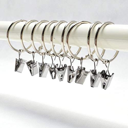 CHUITF 10 stuks roestvrij staal wasknijpers haken wasknijpers draagbare beha sokken ophangsysteem pegs racks anti-wind sokken clips airer zilver