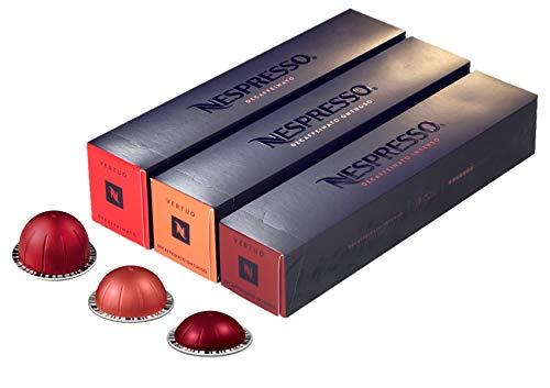 European Version of Nespresso VertuoLine, Light Variety of Coffee ( 7.7 ounce): Elvazio, Giornio, Solelio, 30 Capsules