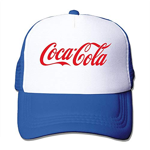 Coca Cola Logo Adjustable Mesh Caps Unisex Sombreros y...
