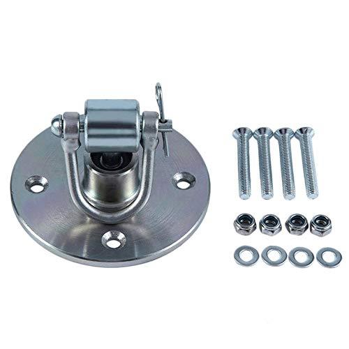 Cloverclover Bola de perforación de velocidad giratoria especial para montaje gancho...