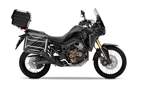 Kit de 2 Protectores Adhesivos para Maletas Honda Africa Twin CRF1000L VHA-001 Negro