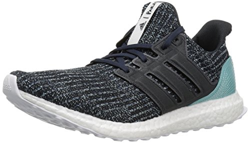 adidas Men's Ultraboost Parley, Carbon/Blue, 10 M US
