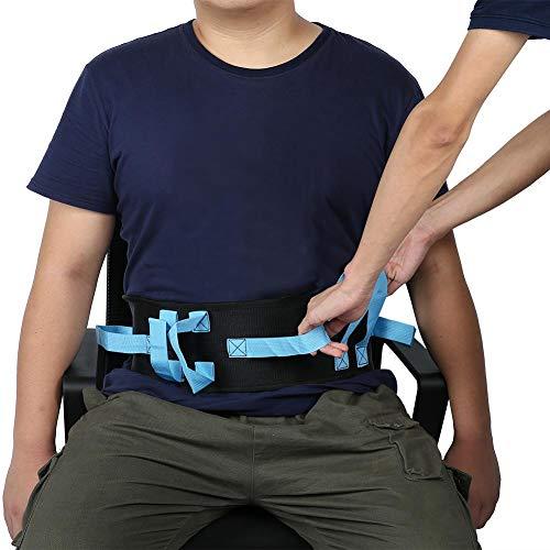 Cinturón de transferencia de eslinga de elevación, eslinga de elevación de pacientes para personas mayores discapacitadas, cinturón de elevación acolchado con asas, transferencia de cinturón de andar