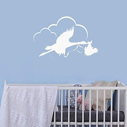 Geiqianjiumai Draag vinyl muur sticker decal kinderkamer slaapkamer verwijderbare kunst sticker behang kinderen thuis muur decoratie