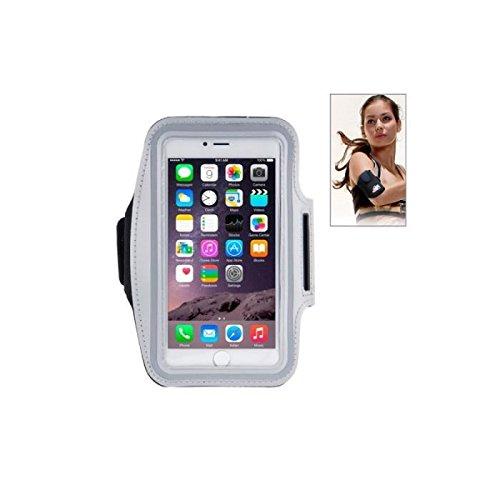 BPFY - Brazalete deportivo para iPhone 5/5C/5S/SE, color gris