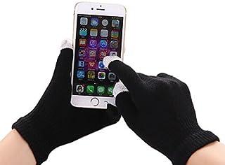 I-Sonite (Black) Universal Unisex One Size Winter Touchscreen Gloves for Lenovo K6 Power