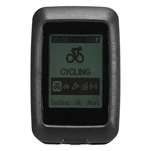 Waterdichte GPS-fietscomputer USB oplaadbare MTB-fiets fietsen draadloze sportcomputer snelheidsmeter kilometerteller