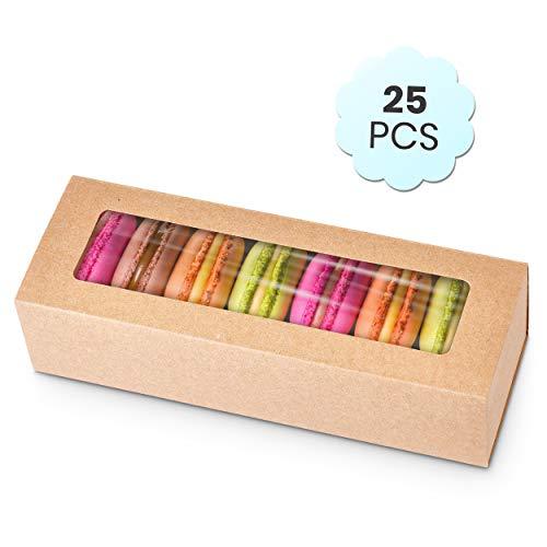 Macaron Brown Boxes