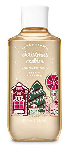 Bath and Body Works Christmas Cookies Shea & Vitamin E Shower Gel 10 Fluid Ounce