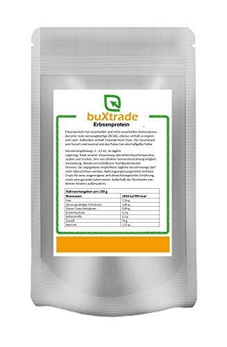 Erbsenprotein | Erbsenpulver | Eiweiß | Eiweiss | Protein | Buxtrade | Versch. Mengen (10x500 g)