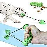 Juguete interactivo para perro con ventosa para perro – Juguete de cuerda para perros...