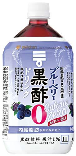 スマートマットライト ミツカン ブルーベリー黒酢 カロリーゼロ 1000ml×6本 機能性表示食品