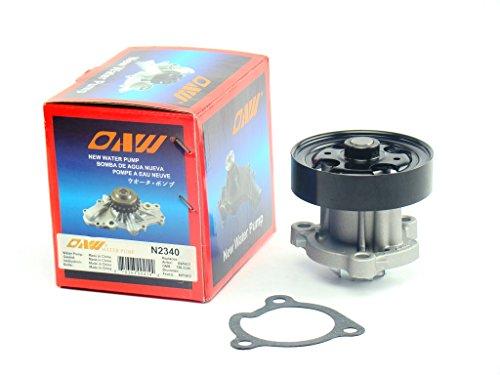Price comparison product image OAW N2340 Engine Water Pump fits 08-15 Nissan Rogue,  02-13 Altima,  02-12 Sentra & 05-06 X-Trail 2.5L QR25DE