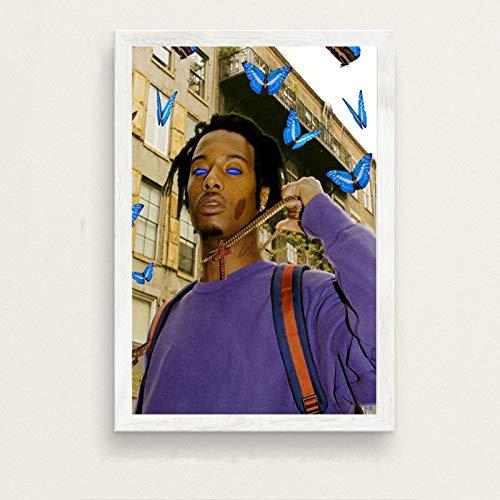 danyangshop Playboi Carti Populäres Musikalbum Hip Hop Rap Star Art Leinwand Malerei Wandposter Home Decoration Home Decor W-3609 (50X70Cm) Ohne Rahmen
