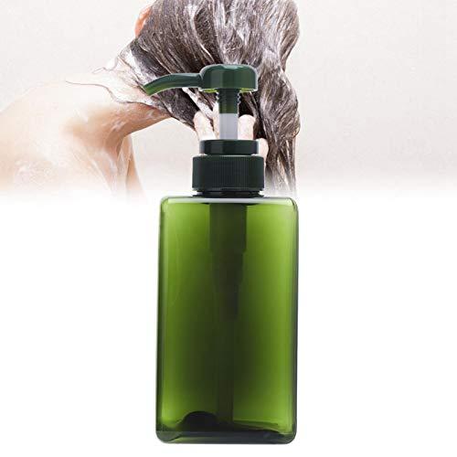 Seifenspender Tragbare Sprühflaschen Lotion Flasche Leere Duschpumpe für Salon für Hautpflege Lotion für(450ml dark green lotion bottle)
