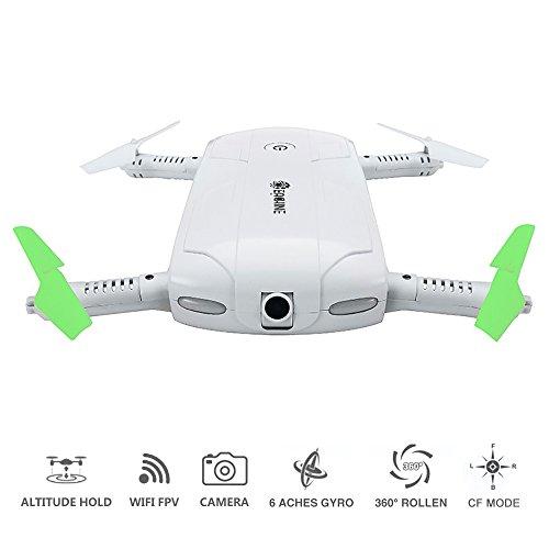 EACHINE E50 WIFI FPV Quadricottero Drone con telecamera HD Foldable Arm Altitude Hold RC Quadricottero Drone Telecomandato Quadcopter Selfie Pocket Drone RTF