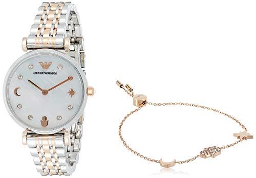 Emporio Armani Reloj Analógico para Mujer de Cuarzo AR80037