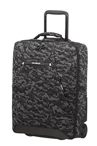 Samsonite Neoknit - Bolsa de Viaje/Mochila con 2 Ruedas S, 55 cm, 41 L, Multicolor (Camo Black)