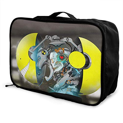 Assassination Classroom Travel Lage Duffel - Bolsa impermeable para mujer o niño, gran maleta ligera