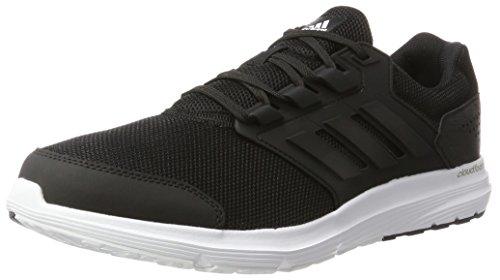 Adidas Galaxy 4 m, Zapatillas de Entrenamiento Hombre, Negro (Core Black/Core Black/Core Black), 43 1/3 EU