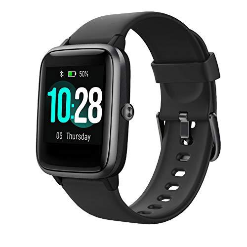 Vigorun Smartwatch Fitness Armbanduhr Touchscreen Fitness Trackers 10 Tage Batterielebensdauer Fitnessuhr Pulsmessung IP68 Wasserdicht Schrittzählen Musiksteuerung Schlafmonitor für Männer Frauen