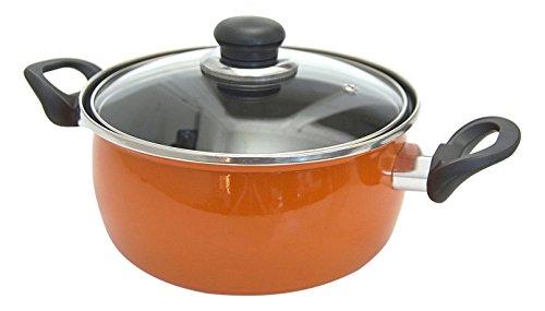 Algon Valencia – Poêle 18 cm, Couleur Orange