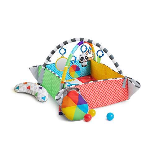 Baby Einstein Patch'S 5 en 1 Color Playspace Actividad Jugar Gimnasio & Ball Pit Edades Recién Nacido +