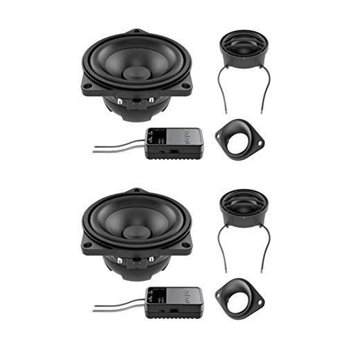 Audison APBMW K4M 10cm Haut-parleurs à 2 Voies composantes pour BMW & Mini ~ Prima Series ~