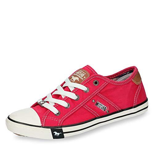 Mustang Damen 1099-302-5 Sneaker, Rot (rot 5), 36 EU
