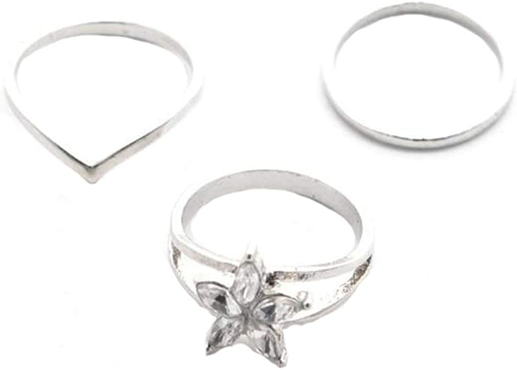 Dearanswer Circle Foot Ring Exquisite Geometric Ring V-Ring Personalized Toe Ring